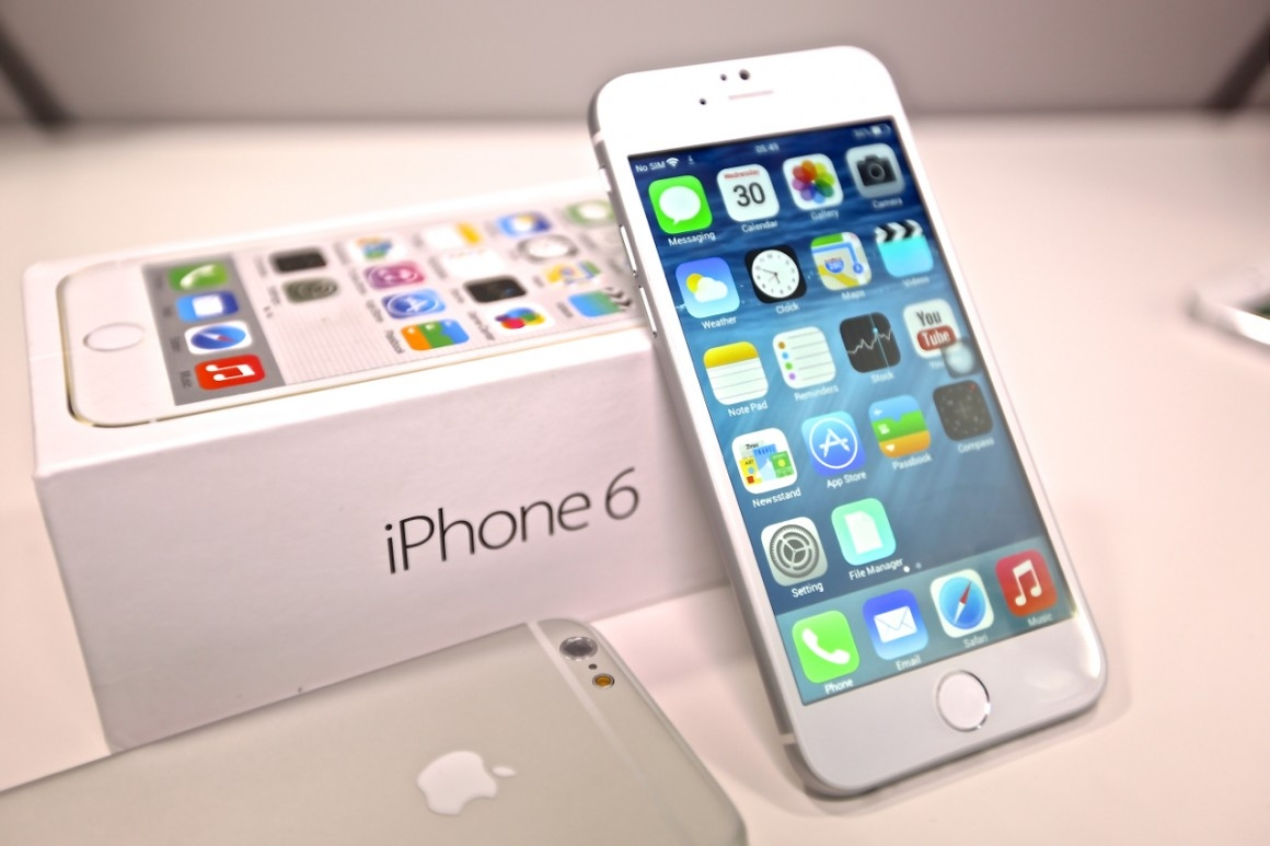 apple iphone 6 space gray 16 gb neverlocked. Black Bedroom Furniture Sets. Home Design Ideas