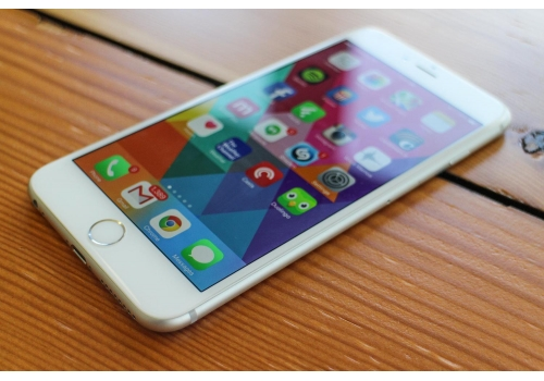 Apple iPhone 6 Plus, Silver, 16 GB (Neverlocked)