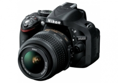 Camera Nikon D5200 24.1 MP CMOS Digital SLR with 18-55 mm f/3.5-5.6 AF-S DX VR E