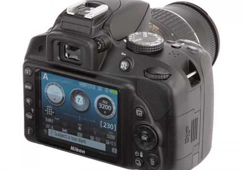 Nikon Black D3300 Digital SLR Camera 24.2 Megapixels 18-55mm VR II Lens