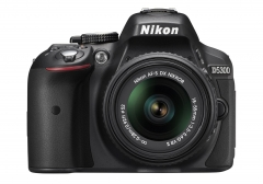 Nikon D5300 24.2 MP Digital SLR Camera with 18-55mm VR II Auto Focus-S DX NIKKOR