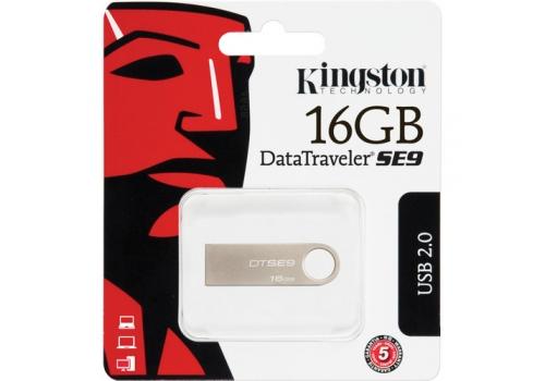 Kingston 16GB DataTraveler SE9 USB Flash Drive